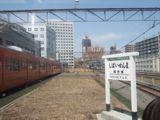 旧万世橋駅ホームから見た中央線