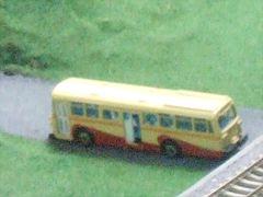 鉄道模型パノラマに神奈川中央交通のバス?