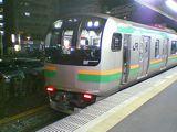 東海道線のE217系(茅ヶ崎駅 060414)