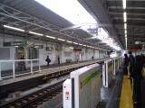 東急目黒線不動前駅:ホームドア一時撤去