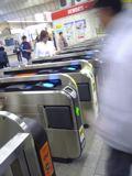 茅ヶ崎駅の自動改札機