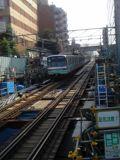 060630 不動前駅ホームから武蔵小山方面を望む