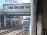 060714 鶴見駅で点検中のライナー28号