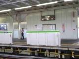 060815 不動前駅ホームドア再設置