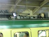 071003 江ノ電:500形風塗装になった1201F 残置されたベンチレータ