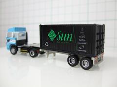 [Model][Mac&PC]自作デカールでSun「Project Blackbox」風コンテナを作った