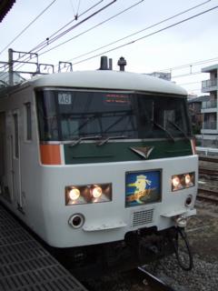 080314 3732M 湘南ライナー12号 茅ヶ崎駅3番 A編成使用最終日