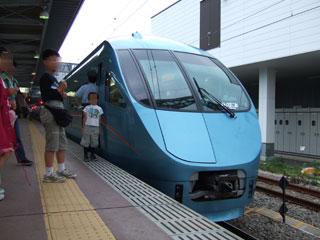080608 小田急ロマンスカーMSE 小田原駅