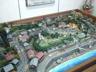 090111 江ノ電 江ノ島駅のNゲージレイアウト