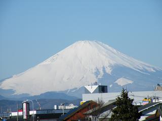 090125 富士山@富士見橋