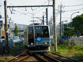 090429 相模線「横浜・神奈川DC」ヘッドマーク付きR2編成@南橋本駅