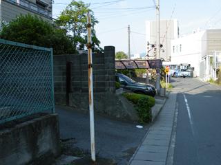 三島 東レ第1踏切 090509