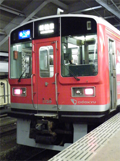 090823 [Rail] 小田急:赤い1000形(1059F)