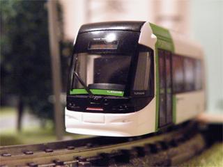 090830 [Model][Rail] 鉄コレ:富山ライトレールTLR0600型