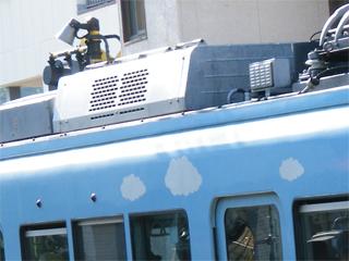 090913 [江ノ電][Rail]2003F:空調機器更新