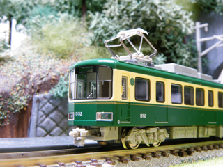100205 [Model][Rail][江ノ電]Nゲージ:モデモNT104 江ノ島電鉄1500形(500形塗装)