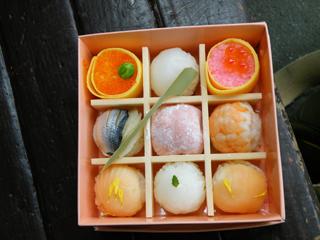 大船軒:紫陽花てまり寿司