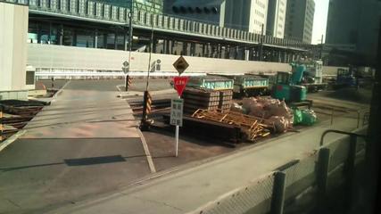 20110204 品川駅の「きしゃにちゅうい」