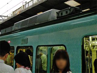 20110625 江ノ電1101F空調機器更新