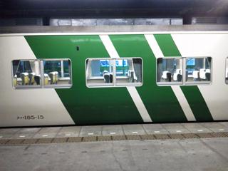 20110728 [Liner][Rail]185系A8編成の湘南ライナー10号に乗る