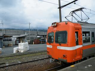 岳南鉄道モハ7001 20120630@岳南江尾駅