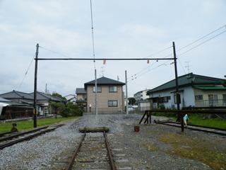 岳南江尾駅 終端を望む 20120630