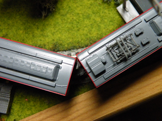 "[Model][Rail] MODEMO NT134 箱根登山鉄道2000形""グレッシャー・エクスプレス塗装"" 〜最小通過半径R140の訳"